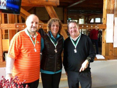 Finale golffriends.com Aldiana Trophy 2013 - Verleihung Medaille